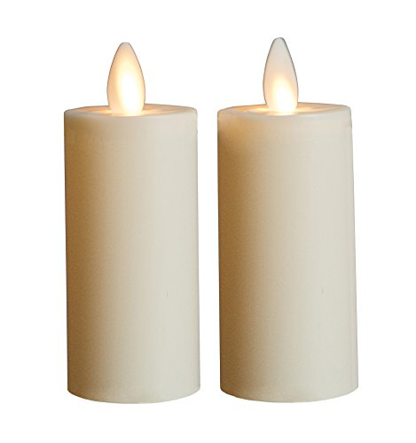 Mystique Flameless Candle, Ivory 3