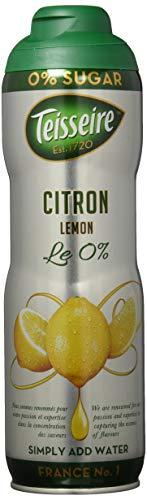 Teisseire Zitone/Limette Sirup ohne Zucker mit Stevia-Rezeptur, 6er Pack (6 x 600 ml)