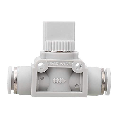 Pneumatisches Absperrventil-Kunststoff-Absperrventil für automatische Ausrüstung HVFF-Schaltventil-Schnellanschluss(8)