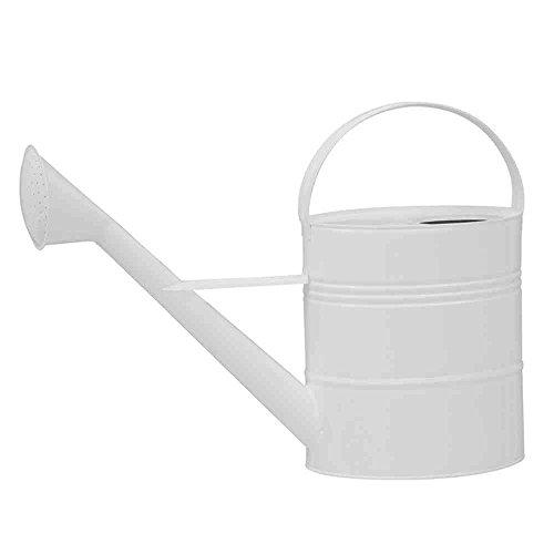 Siena Garden gieter van zink, 10 liter wit