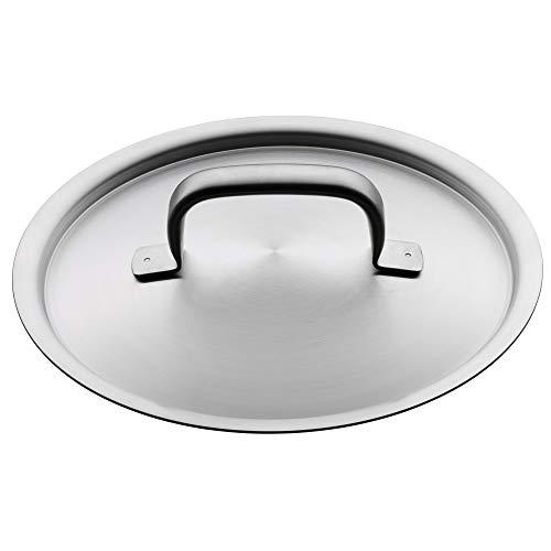 WMF Gourmet Plus Topfdeckel 20 cm, Cromargan Edelstahl mattiert, Metalldeckel, spülmaschinengeeignet