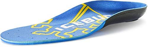 professional Icebug Fat Cushion Support Insole Flex Technology, Blue High Arch, M 11