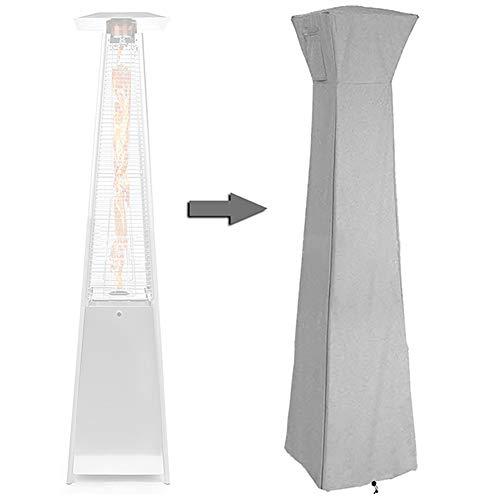 Abdeckung für Terrassenheizer, Wasserdicht UV-Beständiges Wetterschutzhülle für pyramidenförmigen freistehenden Terrassenheizstrahler