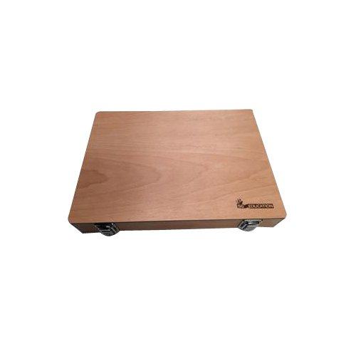 SG Education WOODBOX - Caja vacía de madera para kit TG