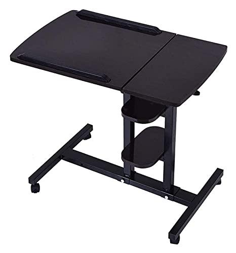 Beistelltisch Einzigartiger C-förmiger Nachttisch Laptop-Schreibtisch Faltbarer Computertisch Verstellbarer tragbarer Laptop-Schreibtisch Rotierender Laptop-Betttisch Kann angehoben Werden Stehender