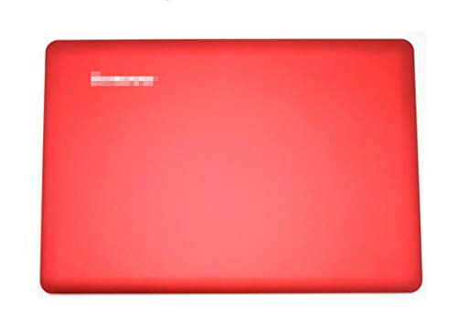 HuiHan Replacement for Lenovo IdeaPad U410 Laptop Red Top LCD Rear Lid Back Cover Non Touch