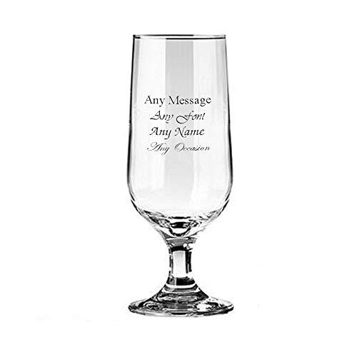 ukgiftstoreonline Personalised Engraved Beer Goblet Wedding Birthday Best Man Usher Godfather