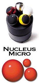 Sistema di diffusori Hi-Fi/Home Teather Nucleos Micro 5.1 Gallo Acoustics finitura Black Negozio alta fedeltà Intermarket Hi-Fi Roma progettazione, vendita, installazione, assistenza tecnica di alta fedeltà, video, audio, accessori, musica liquida, DJ, Home Automation, Mobili. Hifi online shop