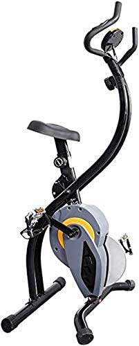 Wghz Bicicleta estática reclinada con Resistencia Bicicleta de Fitness Bicicleta giratoria Hogar Ultra silencioso Interior Plegable Bicicleta Deportiva Coche de Control magnético