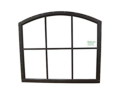Shed Window 28 X 25 6 Lite Arched Top Safety Glass Window Playhouse Garage