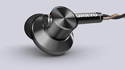 ONKYOカナル型イヤホンセミオープン/ハイレゾ音源対応/コントロールマイク付ブラックE700MB