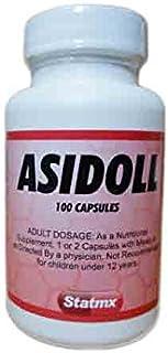 Asidol Enzymes (Pepsin)100 Vegetable Capsules