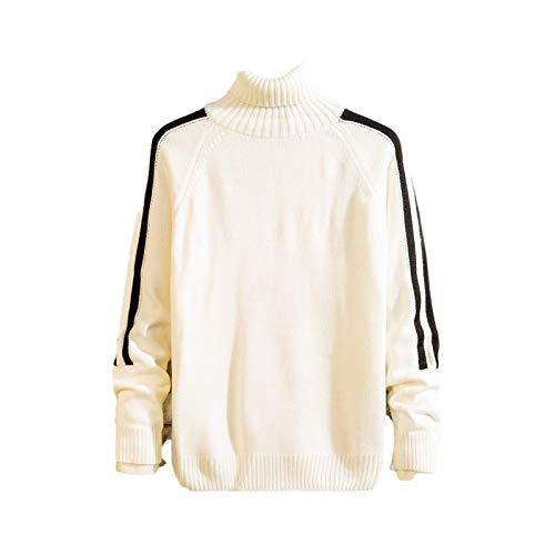 Herren Bottoming Shirt In Herbst- und Wintermode Casual Side Striped Stitching...