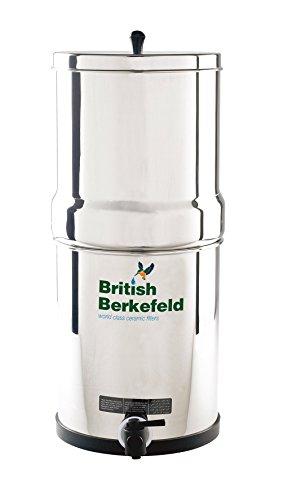 Doulton Notfallwasserfilter, Wasserfilter für Katastrophenvorsorge und mobiler Outdoorfilter mit 2 Keramik-Aktivkohle Patronen (Trinkwasser selber herstellen)