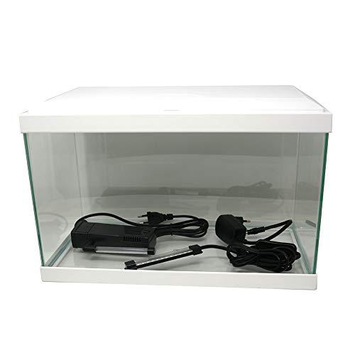 ASKOLL Acquario Aqua 20 bianco 40x20x31 con led e filtro 17 litri