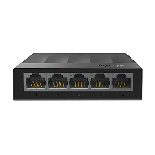 TP-Link 5-Port Desktop Switch (10/100/1000Mbit/S) Ls1005G|1.0|1|5 Years|Switch|Usb Stick|Usb Stick