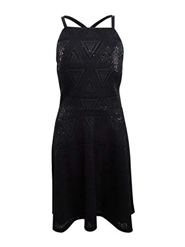 GUESS - Vestito da donna con paillettes, colore: Nero