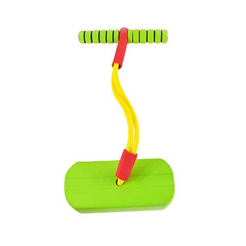 STOBOK diversión para niños Seguro pogo Stick Foam Bungee Jumper pogo Stick Frog Jump Body Balance Ejercicio Ejercicio año Nuevo Regalo de cumpleaños para niños pequeños niños (Verde)