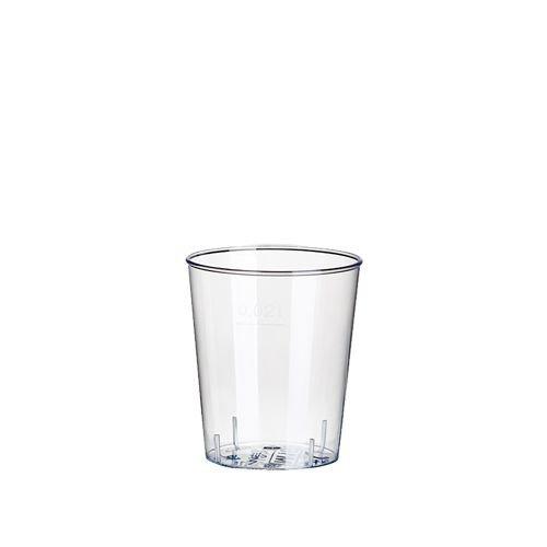 Papstar 12158 bicchieri da grappa, PS 2 cl, Ø 3,7 x 4,1 cm cosucce, 30-SET