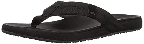 Reef Men's Cushion Phantom Sandal, Black, 8 M US