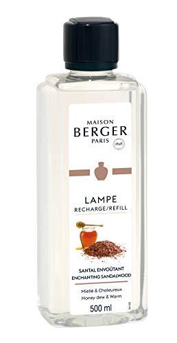 Lampe Berger Profumo per Ambienti, Santal Envoûtant-Legno di Sandalo, 500 ml
