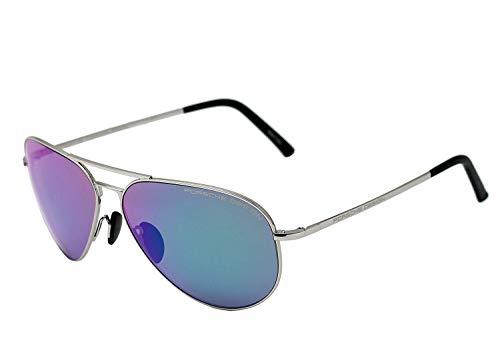 Porsche Design P8508 K - Gafas de sol unisex, color azul paladio/Majolica 62-12