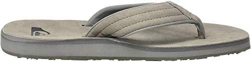 Quiksilver Herren CARVER NUBUCK Badeschuhe, Schwarz (Grey/Grey/Black Xssk), 41 EU