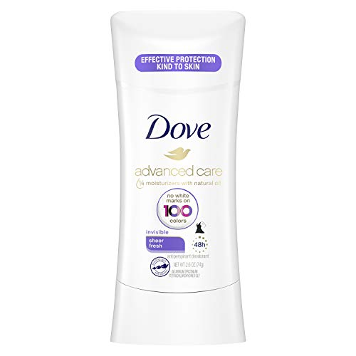 Dove Invisible Stick Antiperspirant Deodorant Sheer Fresh 2.6 oz