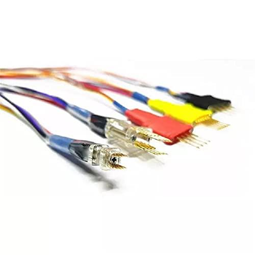 Probe Power Mejor Calidad / 3.0 mm / 2.54mm / 3.0mm Sin PINS PIN DE SOLDADOR ADAPTADORES DE SONDA ECU Para xprog/iprog en circuito ECU Herramienta de prueba de diagnóstico Medidor de voltio digital