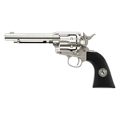 Colt Peacemaker Revolver Single Action Army Six-Shooter .177 Caliber Air Pistol, BB Gun
