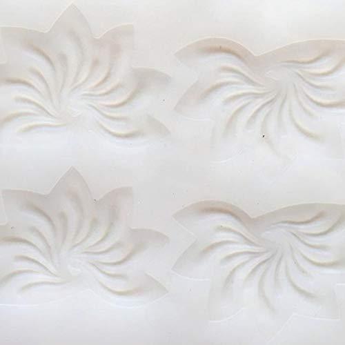 Leoie siliconen vorm esdoornblad voor DIY taart chocolade decoratie gereedschap