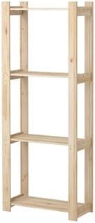 IKEA ALBERT - Estantería de madera de pino blanda (63 x 27 x 159 cm)