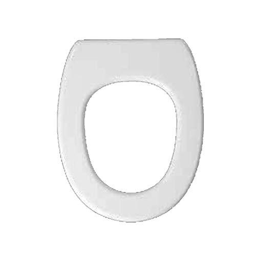 Copriwater dedicato per Serie Old England Simas in Resina Poliestere colata Bianco Lucido - Coperchio Sedile tavoletta per WC - Massima qualita' Garantita