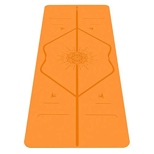 top rated Liforme Happiness Yoga Mat-Patented Leveling System, Warrior Grip, Non-Slip, … 2020