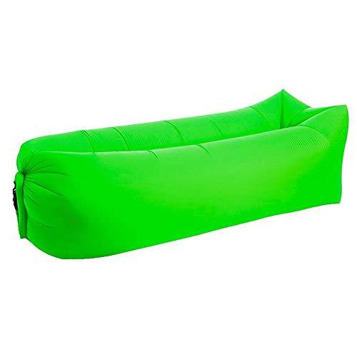 GUOJIAYI Füllung mit Luft-Sitzsack, Sofa, aufblasbar, Luftsofa, tragbar, für Erwachsene, Strand, Lounge, Stuhl, wasserdichter Sitzsack FruitgreenSquare