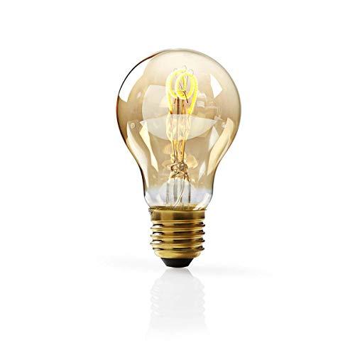 Nedis Bombilla de Filamento LED Ate nuable E27 de Estilo Vint