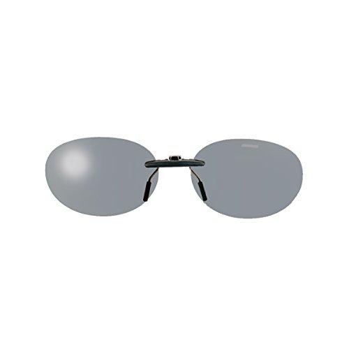 SWANS(スワンズ) 偏光 サングラス メガネにつける クリップオン 固定タイプ SCP-13 SMK2 偏光スモーク2