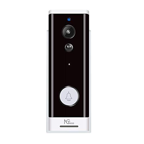 Video Doorbell Wireless, Wi-Fi Doorbell Camera with Motion Detector...
