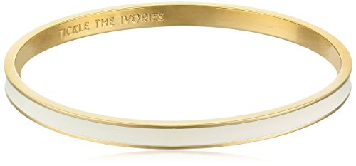 kate spade new york 'Tickle The Ivories' Cream Idiom Bangle Bracelet