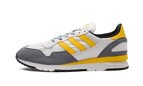 adidas Originals Lowertree - Zapatillas de deporte (talla 46, 2/3), color gris y amarillo