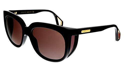 Gafas de Sol Gucci GG0468S BLACK/BROWN mujer