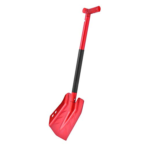 Best Prices! rowna Folding Metal Snow Shovel with Telescoping Handle for Car Camping Garden in Style