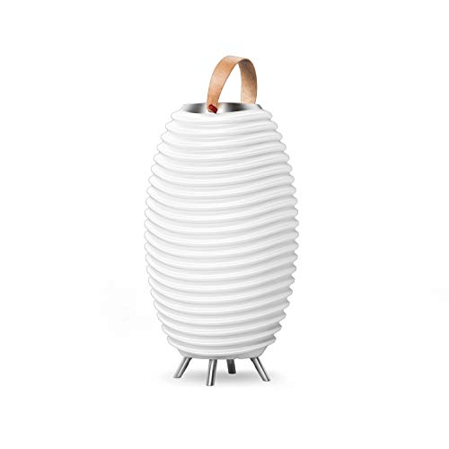 Synergy 50S – 3-in1 LED-Lampe Bluetooth-Lautsprecher & Weinkühler – LED-Licht, Musik-Streaming und Wein-, Champagner oder Bier kühlen
