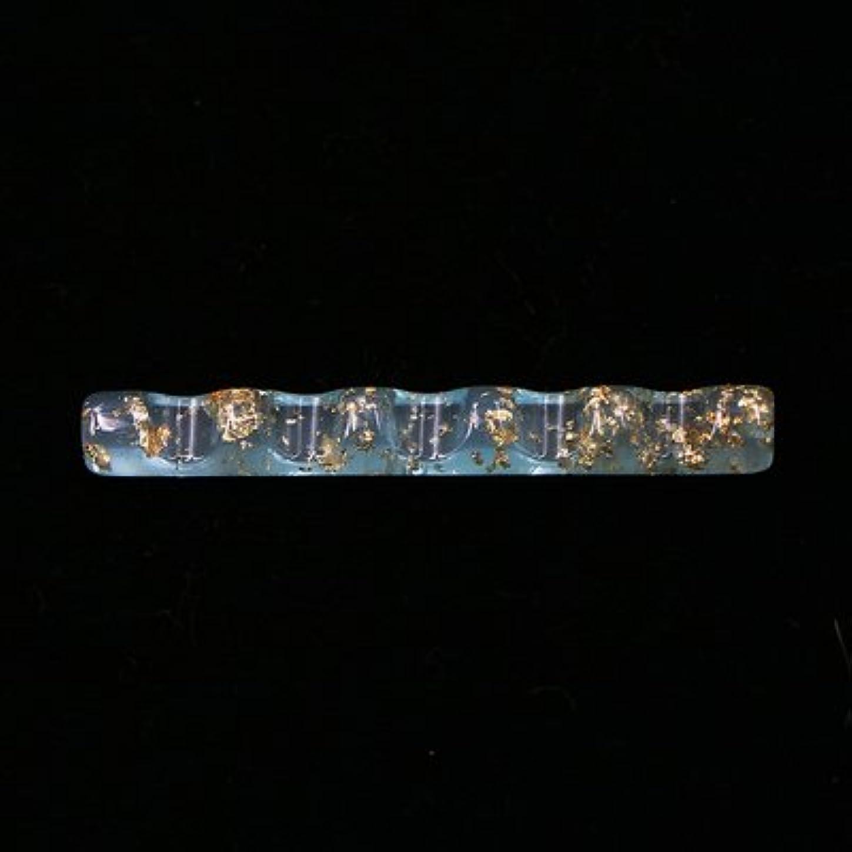 知的ステレオ溶けるジェルネイル  ブラシホルダー  筆置き  ブラシスタンド  ネイルツール  ネイル用品 (ブルー)
