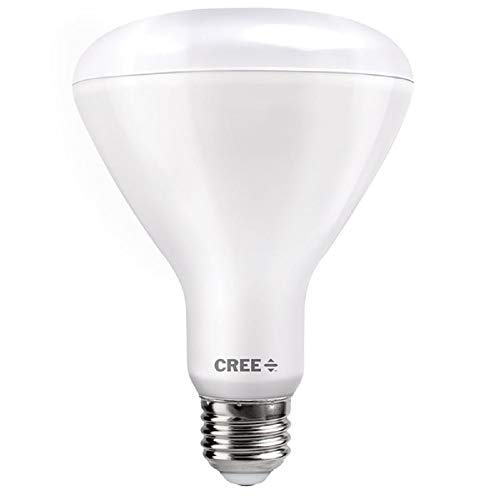 Cree Lighting TBR30-14027FLFH25-12DE26-1-E1 BR30 Indoor Flood 100W Equivalent LED Bulb (Dimmable) 1400, lumens, Soft White 2700K