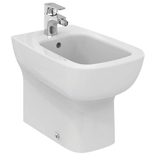 Ideal Standard - ESEDRA Bidet monoforo a Pavimento Filo Parete Bianco Serie E T281301 - Bianco, Monoforo
