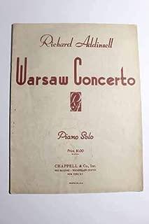 Warsaw Concerto; Piano Solo