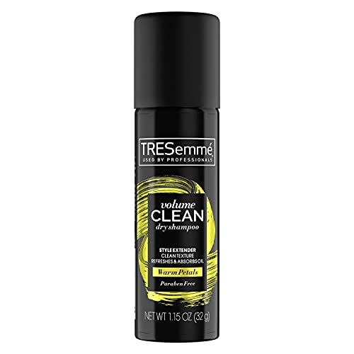TRESemmé Between Washes Dry Shampoo for Non Wash Days Volumizing Instantly Refreshes & Revives Hair 1.15 oz, Pack of 24, Black