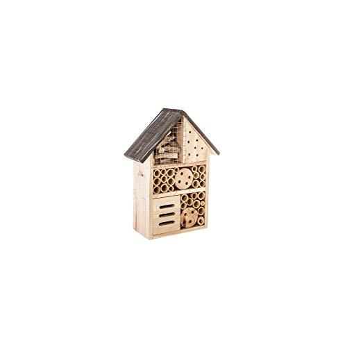 AC-Déco Maison à insecte - 19 x 9 x H 26 cm - Modèle aléatoire
