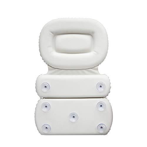 Lorenory Almohadas para Bañera Almohada de bañera Plegable Almohadas de baño Impermeables Respaldo Soft SPA Reposacabezas Ventosa Cojín de Cuello Accesorios de baño